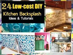 kitchen backsplash ideas diy diy backsplash ideas bullishness info