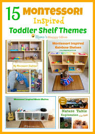 Bookshelf For Toddlers Tips For Montessori Spaces At Home Mama U0027s Happy Hive