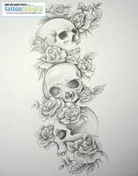 skull tattoos for skull sleeve tattoos for skull
