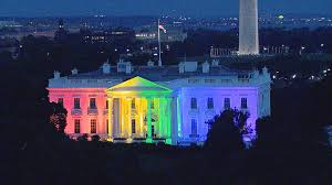 white house pretty cool in rainbow colors says obama nbc news