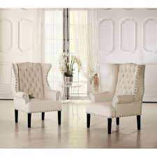 Large Accent Chair Sofa Attractive Upholstered Accent Chair Homeware Sonoma Blue