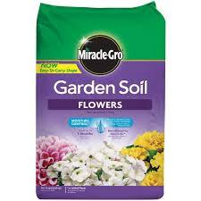 flowers for vegetable garden miracle gro 1 5 cu ft garden soil for flowers 70359430 the