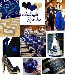 midnight blue wedding band winter wedding colors winter wedding color inspiration