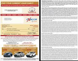 lexus lease waiver program automotive direct mail overflow works