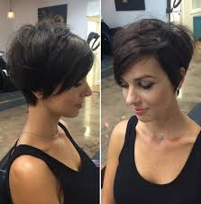 short hair over ears longer in back 50 cute and easy to style short layered hairstyles long pixie