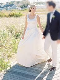 ivory taffeta sleeveless ball gown wedding dress scoop neckline