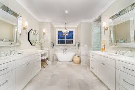 Spa Like Master Bathrooms - spa like master bathroom bathroom transitional with white