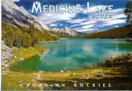 Jasper National Park Canada Map by Medicine Lake Jasper National Park Canada Remembering Letters