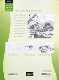 drawing landscapes with william f powell learn to paint step by