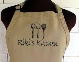 custom apron etsy