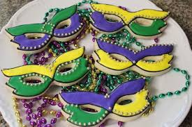 mardi gras cookie cutters cookies