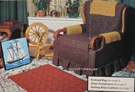Armchair Protectors Patons Beehive Book No 2 Home Accessories Patterns At Crochet4you Com