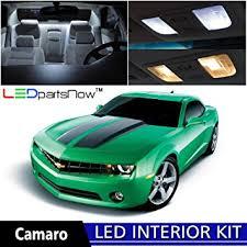 white camaro 2014 amazon com ledpartsnow 2010 2014 chevy camaro led interior lights