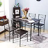 amazon com under 100 table u0026 chair sets kitchen u0026 dining