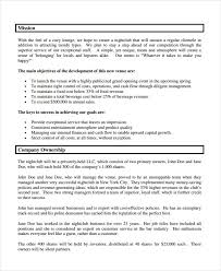 company plan template business plan template for online retail