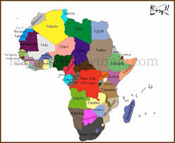 africa map 54 countries learn the map of africa easily by this learnodo
