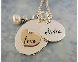 Personalized Necklaces For Moms Mom Name Necklace Etsy