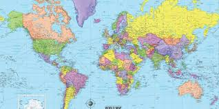 map of the countries info map countries and capitals travel