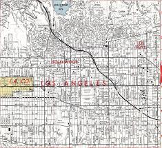 Map Of Los Angeles Area Thomas Bros Map Circa 1974 Los Angeles Hollywood Area Flickr