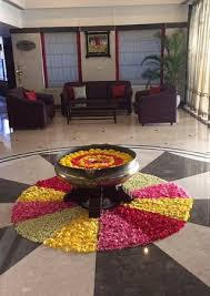 Ugadi Decorations At Home Flower Decoration For Ugadi Festival Picture Of Regency