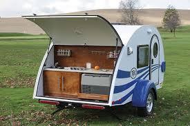 Teardrop Camper With Bathroom Little Big Trailers Www Trailerlife Com