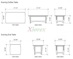 what is the average size of a coffee table stunning what is standard sofa table height best table decoration