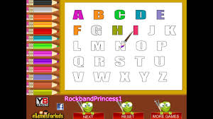 abc coloring pages alphabet coloring pages kids
