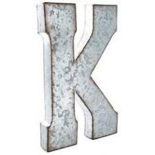 metal letters wall decor wall metal letter galvanized put a vintage inspired spin on monogram letters using this stylish