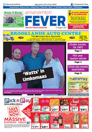 amanzimtoti fever 23082017 by claudia banha issuu