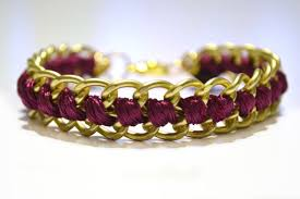 diy bracelet with chain images Style and bling diy bracelets made with chains jpg