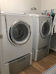Front Load Washer With Pedestal Bosch Nexxt 500 Washer And Dryer With Pedestals Ksl Com
