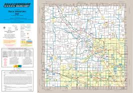 Map Of Oakland Truck Operator U0027s Map Oakland County Road Commission Mi