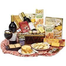 cheese and cracker gift baskets merlot wine basket wine sler gift gift baskets boston robert