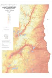 Wisconsin Topographic Map by 29 Best Geology Maps Inspiration Images On Pinterest Geology