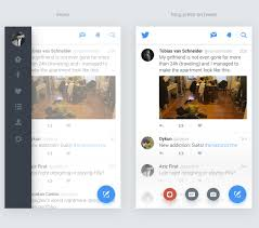 twitter for android redesign sketch app free psds u0026 sketch app
