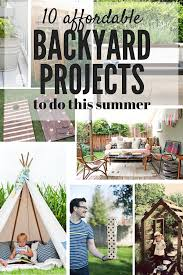 Easy Backyard Projects 10 Affordable Backyard Upgrades Love U0026 Renovations