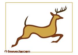 reindeer free vector art 3142 free downloads