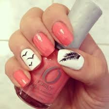 36 easiest feather nail art designs feather nail art feather