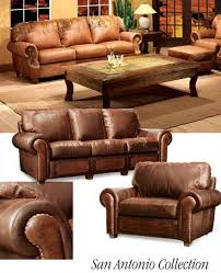 southwestern chairs and ottomans southwestern leather furniture sofa pinteres