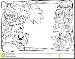 coloring pages forest coloring pages tropical rainforest