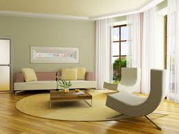 interior living room home decoration with exterior house paint