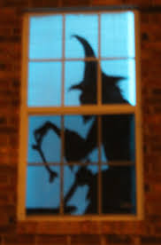quick and easy window silhouettes halloween made simple