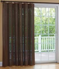 fabric window treatments for sliding glass doors home intuitive