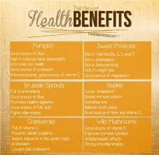 healthy thanksgiving up and fall foods amazing health benefits