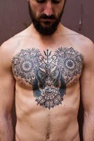 designs gallery chest tattoos for pretty designs