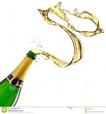 champagne bottle cartoon champagne splash stock image image of explosion celebration