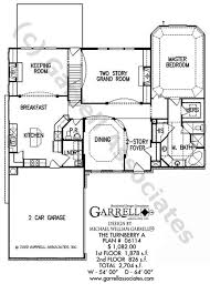 House Plans With Keeping Rooms Turnberry A House Plan House Plans By Garrell Associates Inc