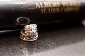Baseball Wedding Ring by Jennifer And Keith U0027s Baseball Themed Wedding 1 Sports Roses
