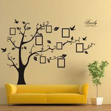 photo tree wall stickers for trends with attractive drawing at