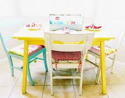 yellow kitchen table and chairs modern ideas yellow dining table sensational design kitchen